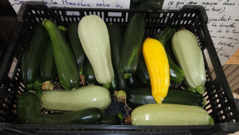 Courgette party !