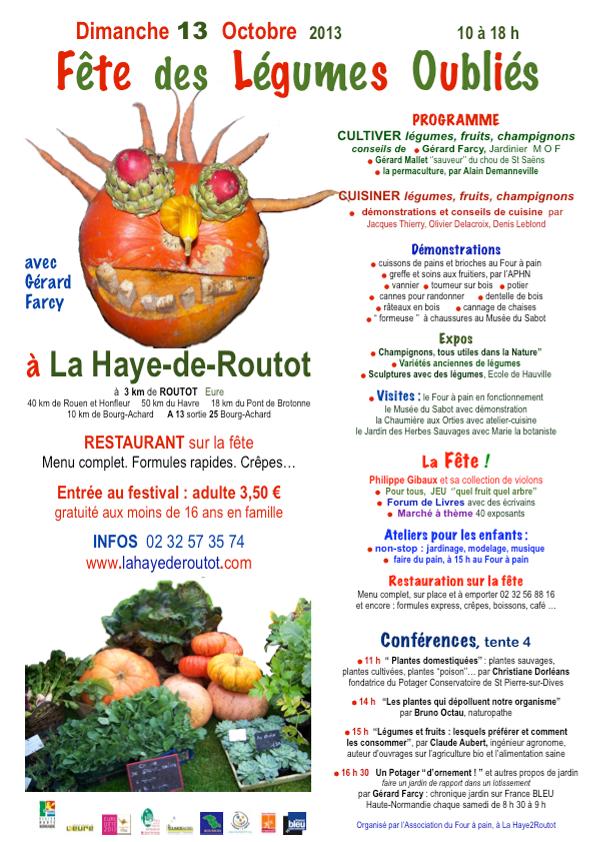 Retrouvez-nous au Festival des légumes oubliés ce dimanche !
