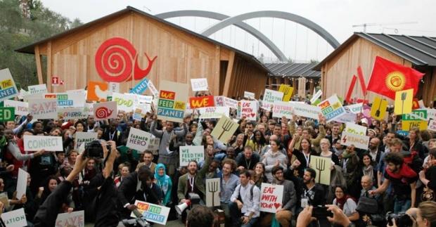 We feed the planet : l'événement SlowfoodYouth historique