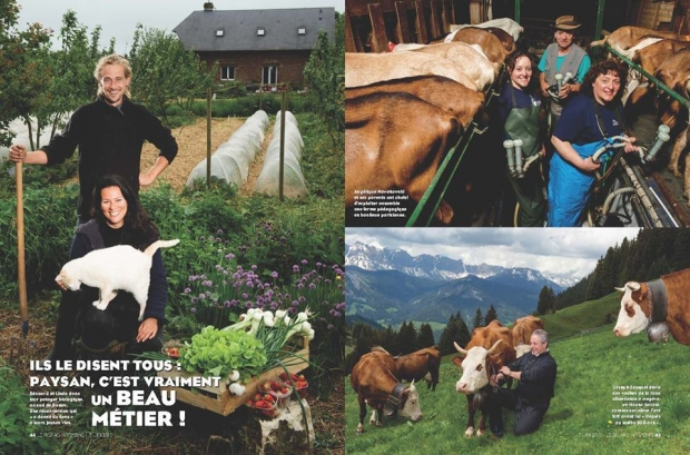 Article dans le Figaro Magazine