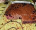 Recette gâteau chocolat courgette cassis