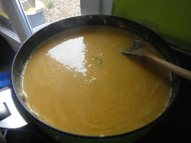 Recette soupe courge – lentille corail