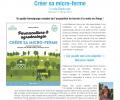 Parution du livre «créer sa micro-ferme» le 17 février 2017
