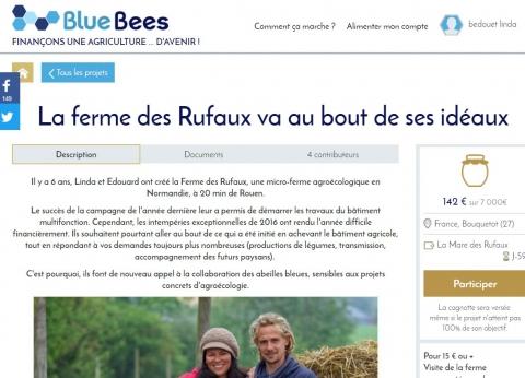 Un nouvel appel aux «abeilles bleues» (Bluebees)